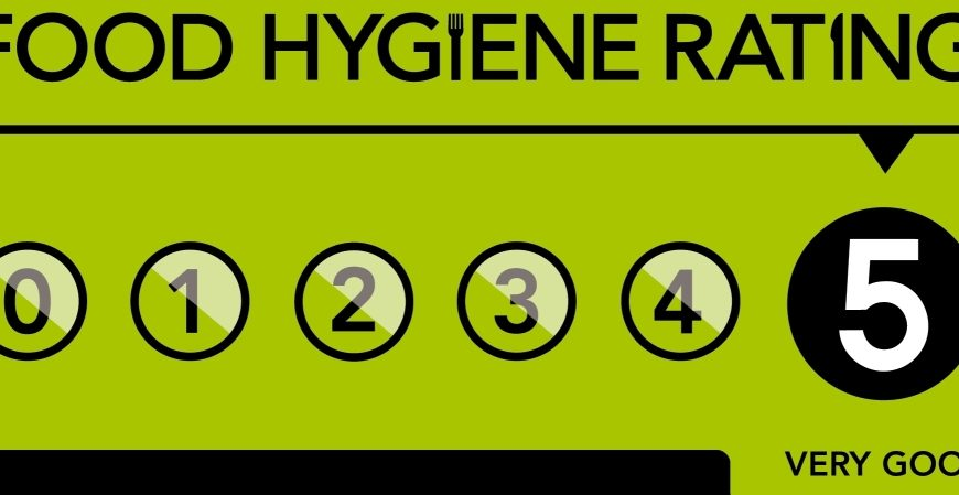 Skies Café awarded top hygiene rating