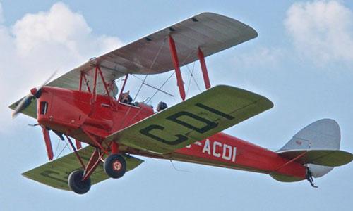 de Havilland DH.82 Tiger Moth.
